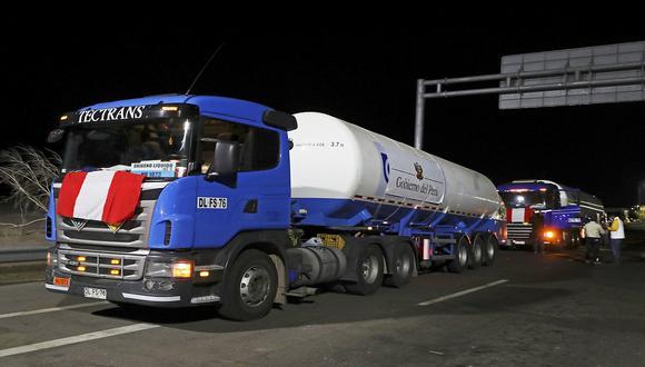 El viernes 26 de febrero el Perú recibió las primeras 40 toneladas de oxígeno de las 960 importadas de Chile. (Foto: Lima 2019)