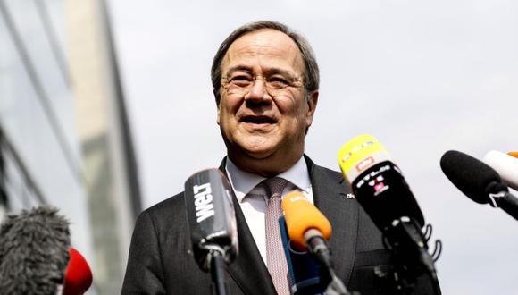 Candidato socialdemócrata Armin Laschet. (Foto: EFE/EPA/FILIP SINGER).