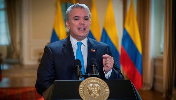 Presidente de Colombia Iván Duque. (EFE)l.