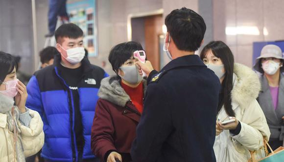 Coronavirus de Wuhan. (Foto: AFP)