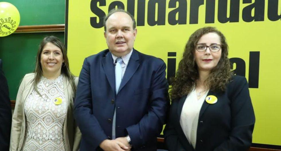 Secretario general de Solidaridad Nacional niega vínculos con Fuerza Popular. (Foto: GEC).