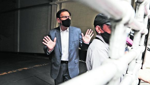"""Vizcarra aseguró que tuvo """"razones válidas para no hacer pública"""" su participación en el ensayo de Sinopharm, ya que """"hubiese puesto en riesgo el normal desarrollo de la Fase III de la vacunación experimental"""". (Foto: GEC)"""