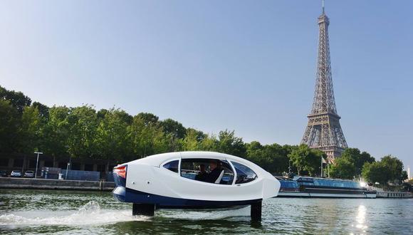 Para realizar esta proeza, los SeaBubbles retoman el principio del hidróptero desarrollado por Alain Thébault, con el que batió un récord de velocidad con vela en el 2009.