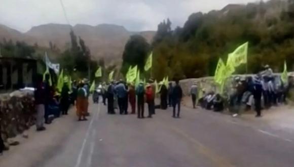 El coordinador del equipo técnico de los agricultores de Tumilaca (Moquegua), Guido Herrera negó que el Poder Ejecutivo haya tenido algún acercamiento. (Captura: Canal N)
