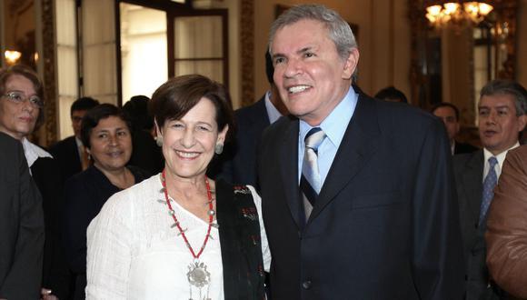 Bajo la lupa fiscal. Los exalcaldes de Lima Susana Villarán y Luis Castañeda son investigados por presuntas coimas en la Línea Amarilla. (Foto: Andina)