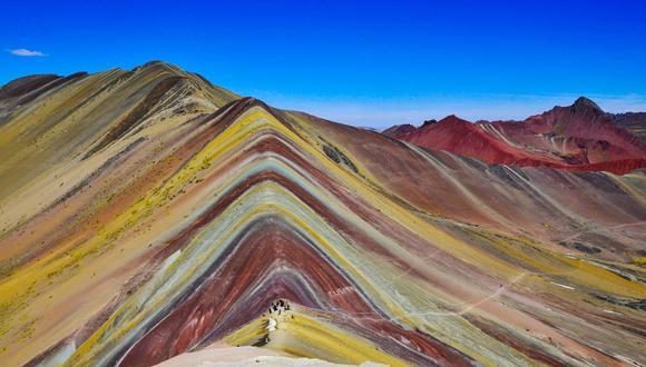 La Montaña de Siete Colores es un importante atractivo turístico para el Cusco. (Foto: USI)