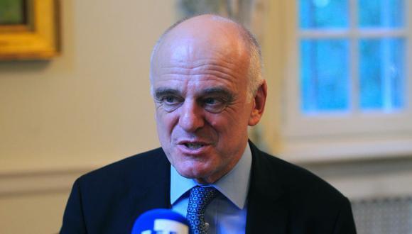 El enviado especial de la Organización Mundial de la Salud (OMS) para la covid-19, David Nabarro. (Foto: EFE/Federico Anfitti)