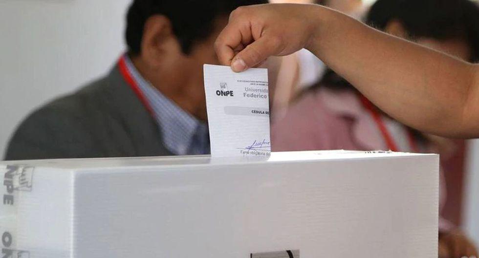 Elecciones 2020. (Foto: Andina)