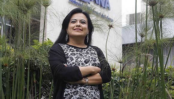 Mirian Morales, secretaria de Palacio de Gobierno.. (Foto: El Peruano)
