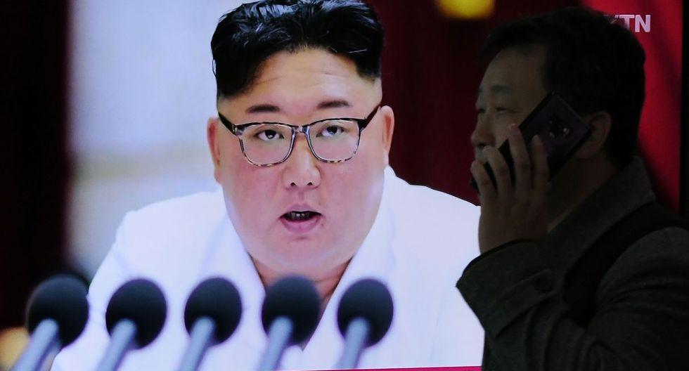 Kim Jong-un participó el jueves de una reunión del Partido de los Trabajadores dedicada al impacto del coronavirus. (Foto: AFP)