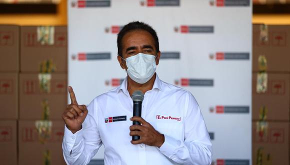 Ministro Gastón Rodríguez manifestó también que en la lucha contra el coronavirus unos 223 policías han fallecido y otros 15,600 han sido contagiados en el cumplimiento de su trabajo.
