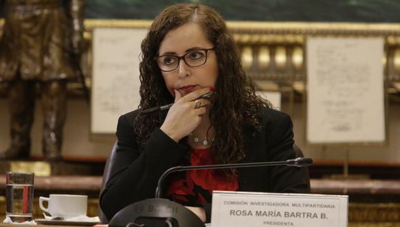 Bartra lamentó que se haya roto el diálogo y aseguró que las iniciativas de reforma política seguirán el trámite establecido por el reglamento del Congreso. (Foto: GEC)