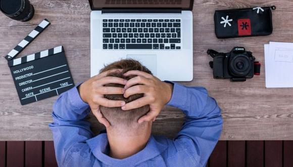 El estrés laboral genera tensión y preocupación constante. (Foto: MorgueFile)