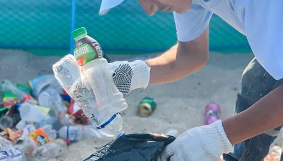 La campaña es acción colectiva de la ONG Recicla, Pe!, la Municipalidad de Villa El Salvador, Arca Continental Lindley y el Ministerio del Ambiente (Minam). (Foto: Recicla, Pe!)