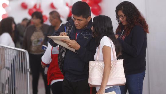 La tasa de desempleo en Lima Metropolitana fue de 9,5%, menor en 6,1 puntos porcentuales a la tasa registrada en similar trimestre del 2020. (Foto: GEC)