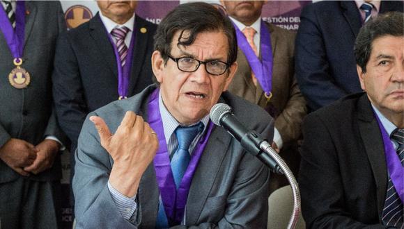 Ciro Maguiña señaló que está dispuesto a volver al equipo de expertos del Minsa si el ministro Zamora pide perdón al gremio de médicos (Foto: GEC)