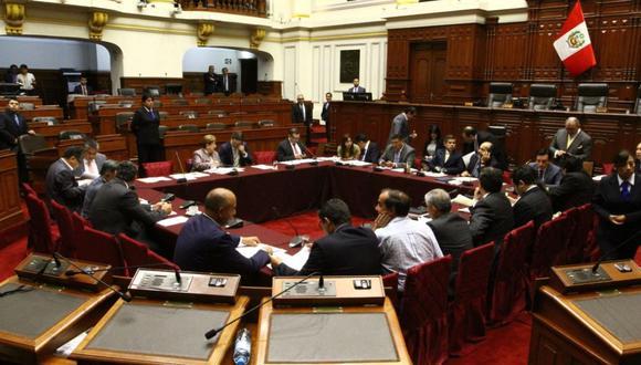 Comisión Permanente. (Foto: Congreso/Difusión)