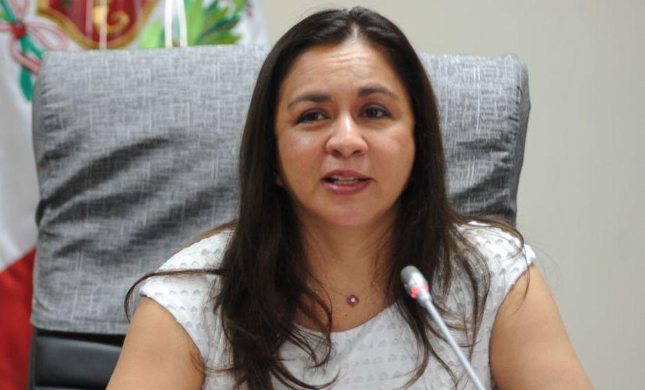 Marisol Espinoza. (Foto: Congreso Perú)