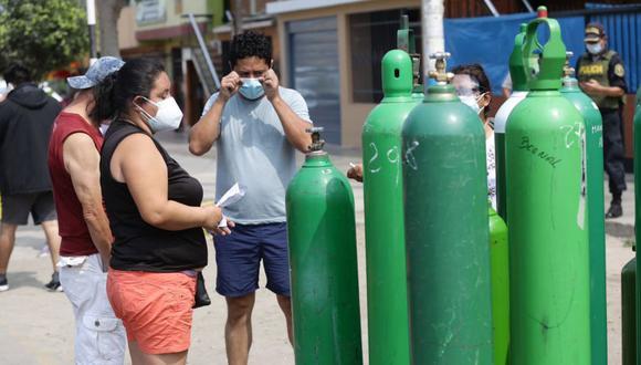 Sopemi considera que el uso de oxígeno medicinal para pacientes COVID-19 que llevan el tratamiento en sus casas debe ser monitoreado por un médico. (Foto: Fernando Sangama/GEC).