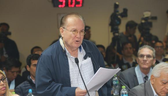 Nava Guibert deberá seguir cumpliendo con la orden de36 meses de prisión preventiva en su contra por el presunto delito de lavado de activos. (Foto: GEC)