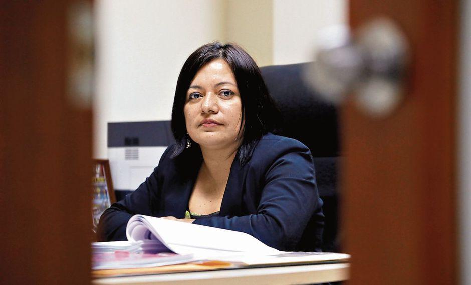 La fiscal Geovana Mori tomará la declaración de Nadine Heredia el próximo 14 de noviembre. (Foto: Piko Tamashiro)