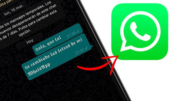 Conozca la manera de cambiar la letra de su WhatsApp en el iPhone. (Foto: Mockup)