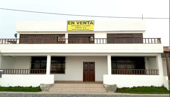 La subasta se desarrollará en el auditorio del Ministerio de Justicia y Derechos Humanos, ubicado en la Calle Scipión Llona N° 350, en Miraflores. (Foto: Difusión)