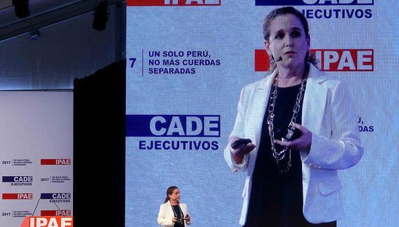 """""""En vez de estar mirando cuán malas son las normas, tratemos de cumplirlas"""", dijo la ministra Cooper. (Foto: Andina)"""