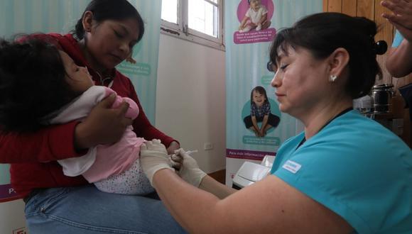 El plan busca completar los esquemas de vacunación y suplementación de los niños, los cuales se detuvieron debido a la pandemia del coronavirus. (Foto: GEC)
