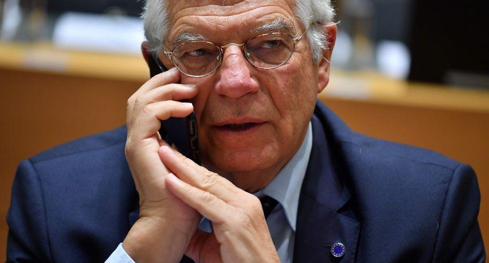 Josep Borrell, ministro de Relaciones Exteriores de España. (AFP).