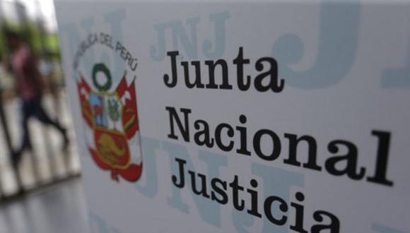 La Junta Nacional de Justicia (JNJ). (Foto: GEC)
