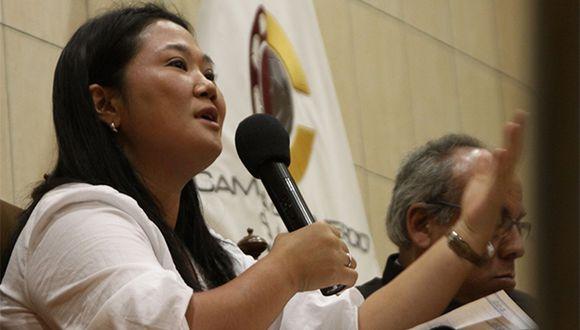 Sala Penal verá casación presentada por Keiko Fujimori. (Foto: Agencia Andina)