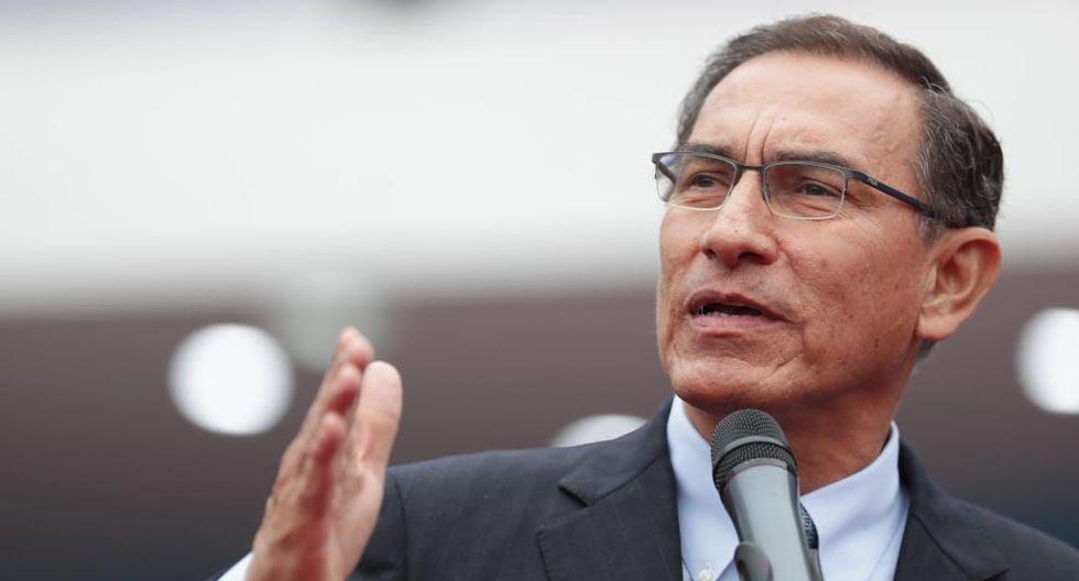 El presidente Martín Vizcarra se pronunció luego que Pedro Chávarry indicara que procesarían unas 46 denuncias en su contra. (Foto: Twitter)