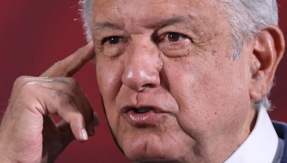 """El presidente de México, Andrés Manuel López Obrador, sobre el atentado contra el jefe de seguridad: """"No vamos a hacer ningún acuerdo con la delincuencia organizada"""". (Foto: EFE/Sáshenka Gutiérrez)."""