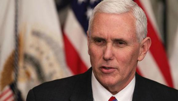 Vicepresidente de Estados Unidos, Mike Pence. (Foto: Reuters)