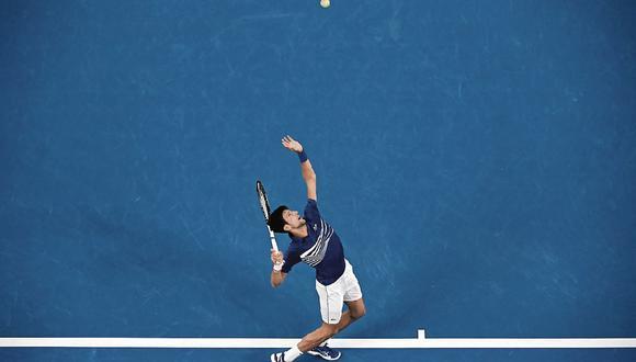 Candidato. Djokovic es el favorito de las casas de apuestas para llevarse el primer Grand Slam de la temporada. (Foto: AFP)