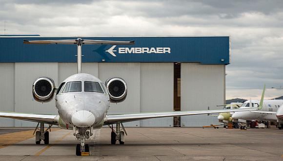 Embraer subrayó que la implantación de las aeronaves eléctricas de Eve en la red Flapper está aún sujeta a la celebración de los contratos definitivos entre las partes. (Foto: AFP)