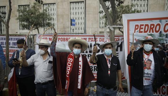 Unos 3.000 agentes de la PNP serán los encargados de mantener el orden ante movilizaciones políticas realizadas en Lima. (Foto: GEC)