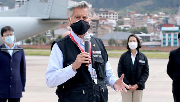 Francisco Sagasti aseguró que el gobierno mantiene absoluta neutralidad y respeto a las organizaciones electorales. (Foto: Juan Sequeiros)
