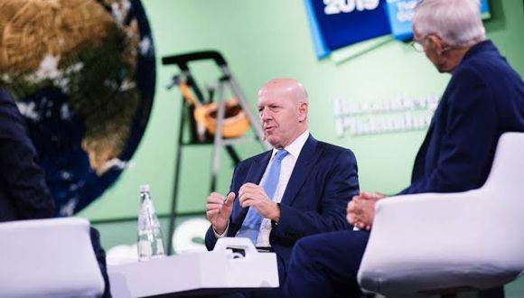 David Solomon, responsable ejecutivo de Goldman Sachs Group Inc.