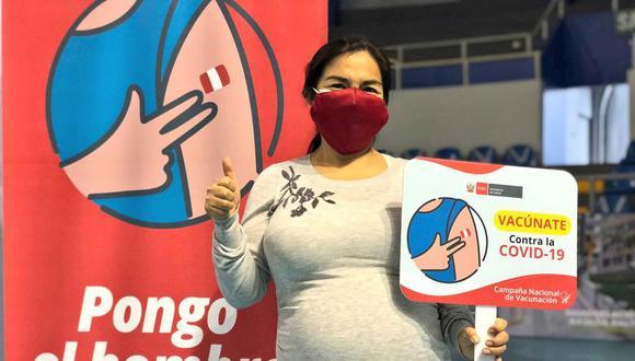 El proceso de vacunación de mujeres gestantes peruanas y extranjeras residentes en el país comenzó el pasado 12 de junio, pero mayores de 18 años y con 28 semanas en adelante. Ahora, ya pueden inmunizarse gestantes con 12 semanas de embarazo. (Foto: Minsa)
