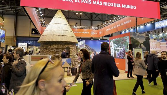 Stand peruano en la Feria Internacional de Turismo. (Foto: Mincetur)