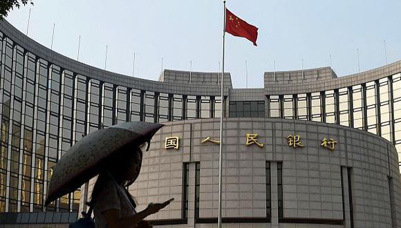 Banco Central de China. (Foto: Difusión)