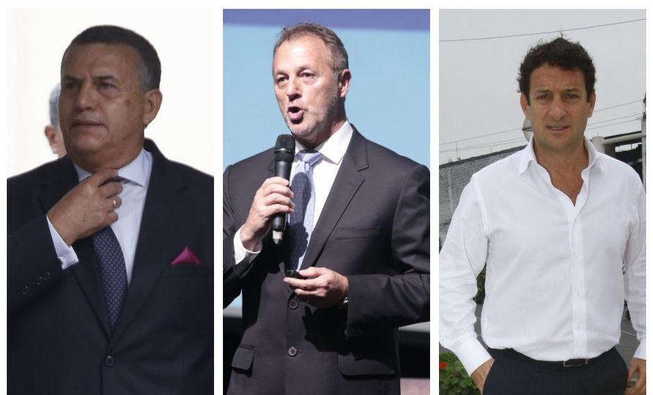Candidatos Lima. (Foto: USI)