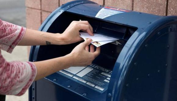 Voto por correo. (Foto: Difusión)