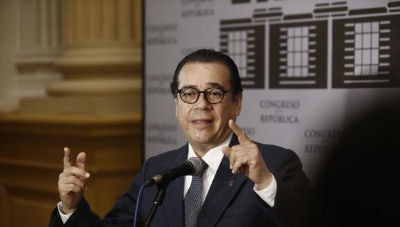 Enrique Mendoza señaló que el caso Lava Jato es el más complejo de los últimos cincuenta años del país. (Foto: USI)