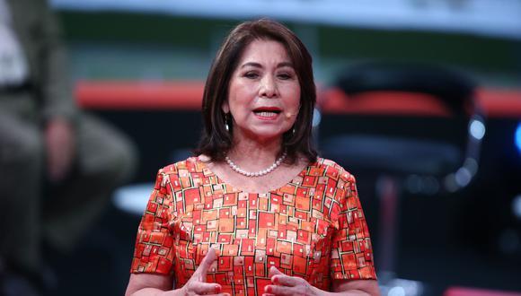 Martha Chávez consideró que la Mesa Directiva liderada por Manuel Merino debería restituirse. (Foto: Andina)