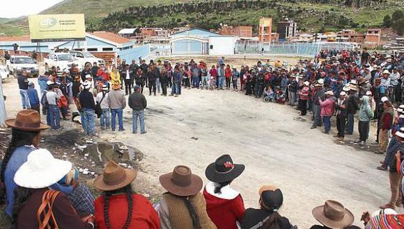 Comuneros exigen el levantamiento del estado de emergencia. (Foto: GEC)
