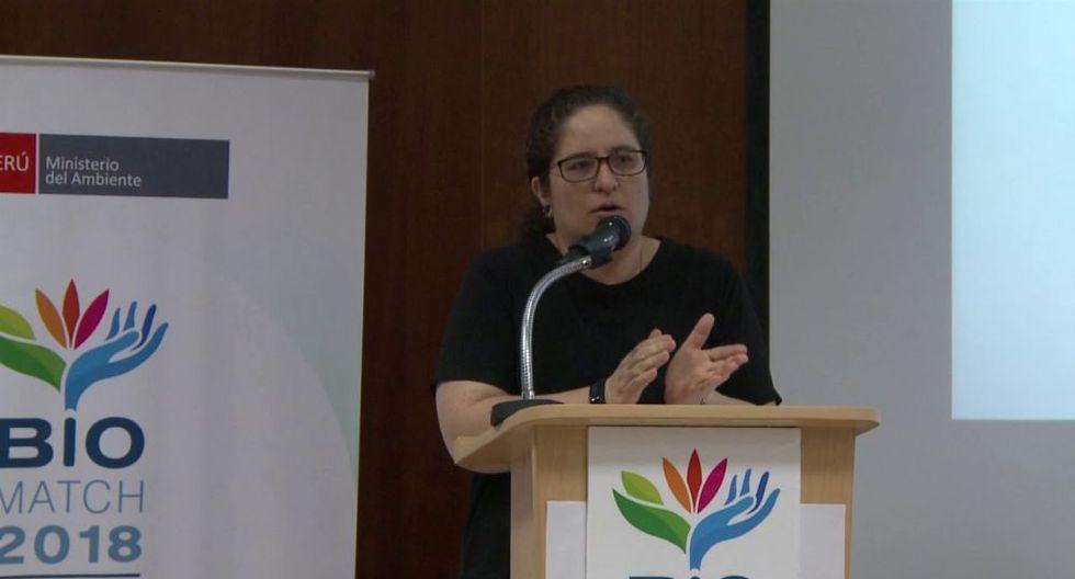 Ministra Lucía Ruiz