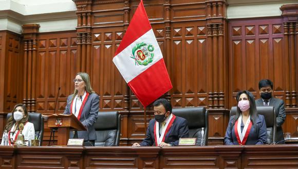 María del Carmen Alva ganó las elecciones para presidir la Mesa Directiva. Su único contendor fue Jorge Montoya. (Foto: Difusión)